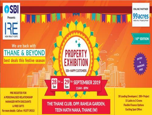 Thane Property Expo SBI