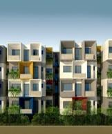 2 BHK  for Sale at 850 Sq.ft in Axis Antara By John Borde
