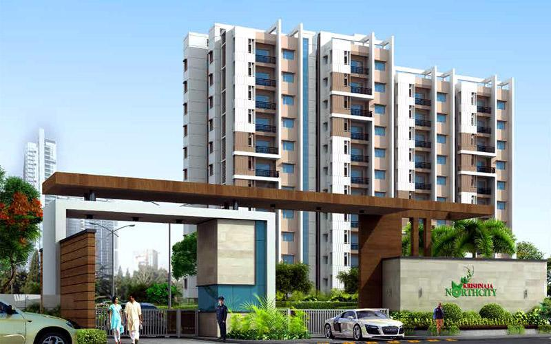 2 BHK Flat for Sale of Carpet 593 Sq.ft in Krishnaja Northcity Devanahalli Bangalore by Jheet Sangram