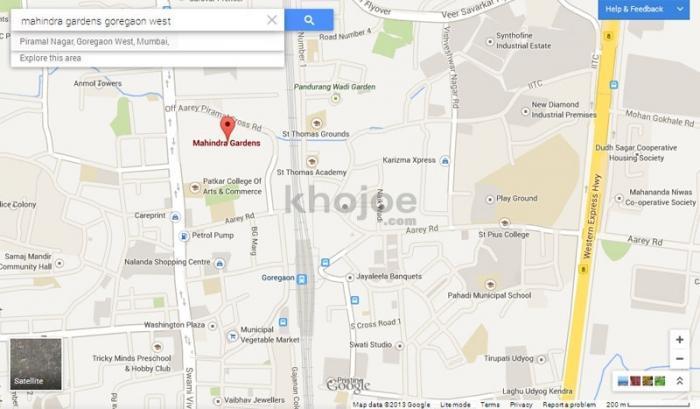 Mahindra Gardens Laburnum 2 to 4BHK for sale, S V Road
