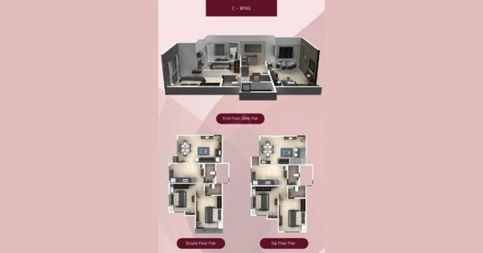 Rachana Elegance  - C Wing flr Plan
