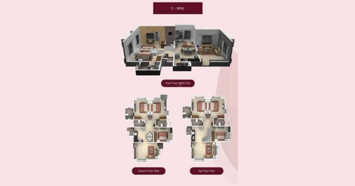 Rachana Elegance  -  D Wing flr Plan