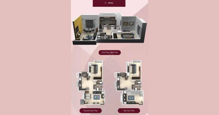 Rachana Elegance  -  E  Wing flr Plan