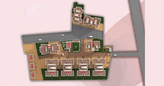 Rachana Elegance  -  Site flr Plan