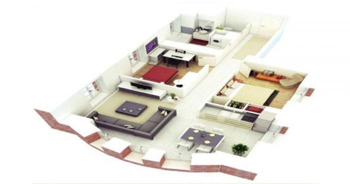 Sattva Serene Life  - Typical flr Plan