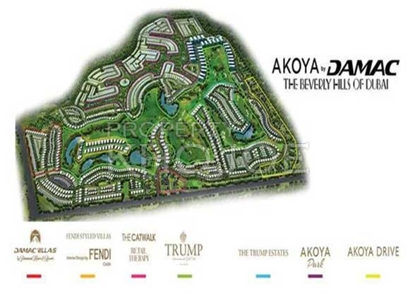 Loretto Akoya Park  - Layout Plan
