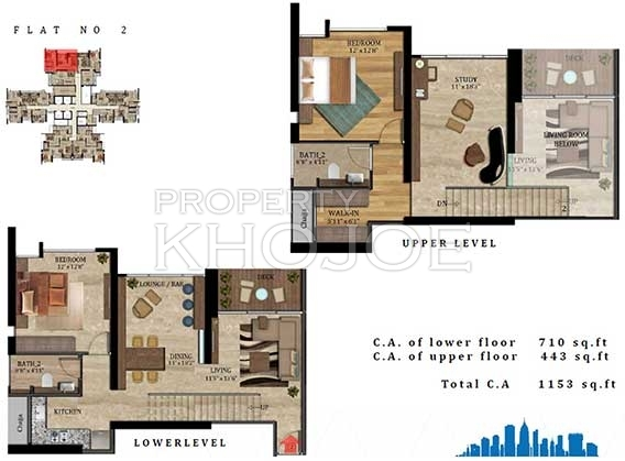Imperial Heights - 2  Flr Plan