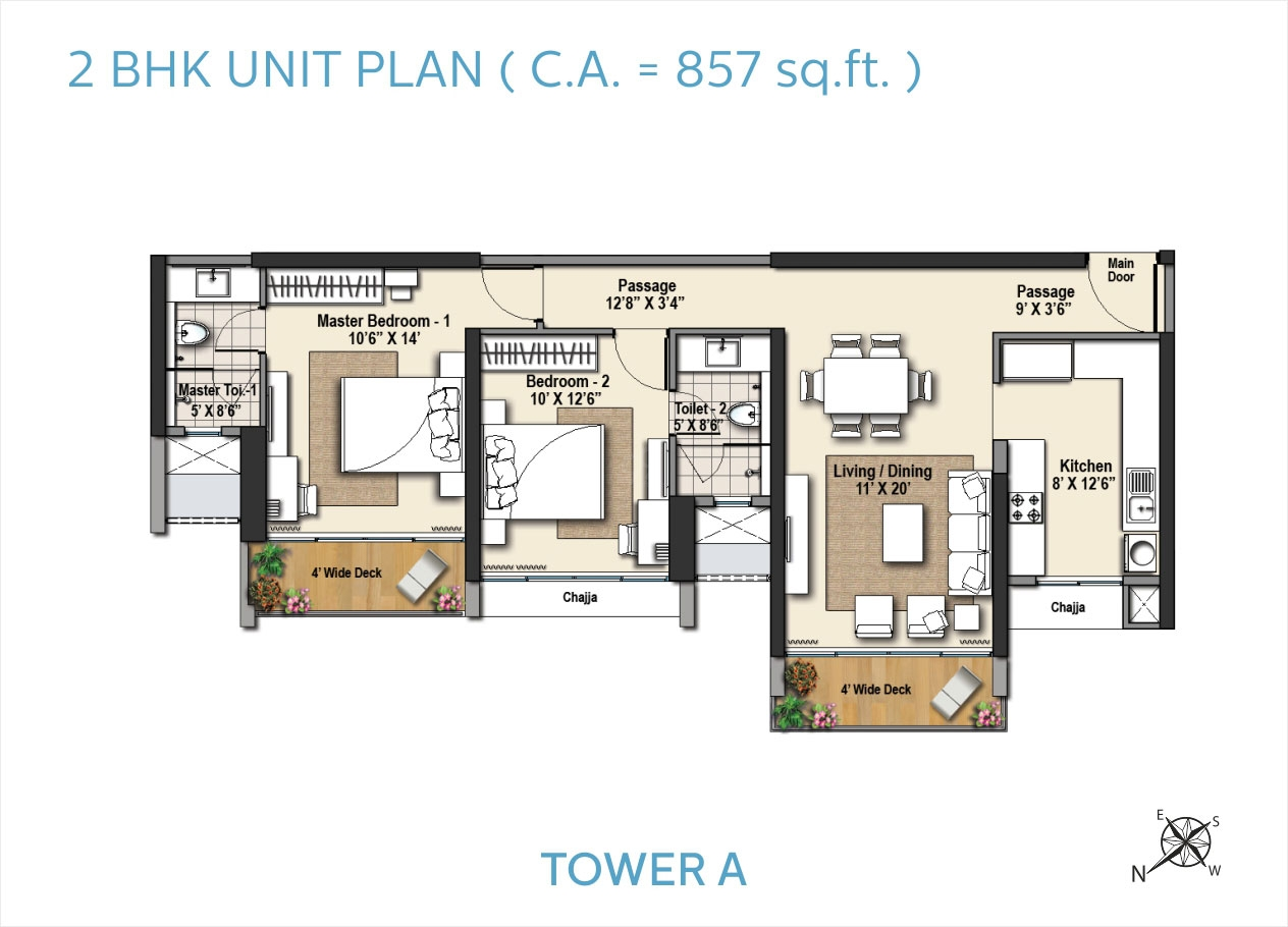 Sorento Tower A Floor Plans