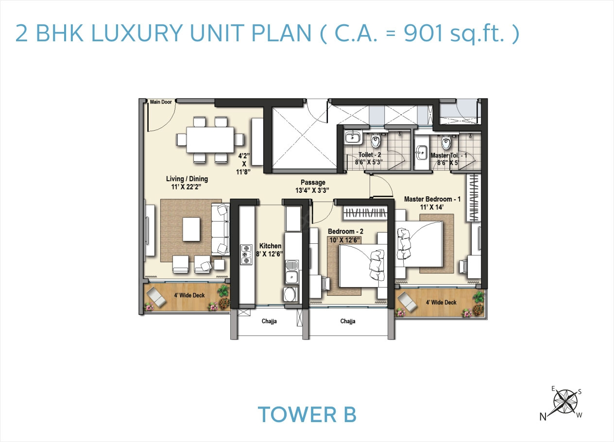 Sorento Tower B Floor Plans