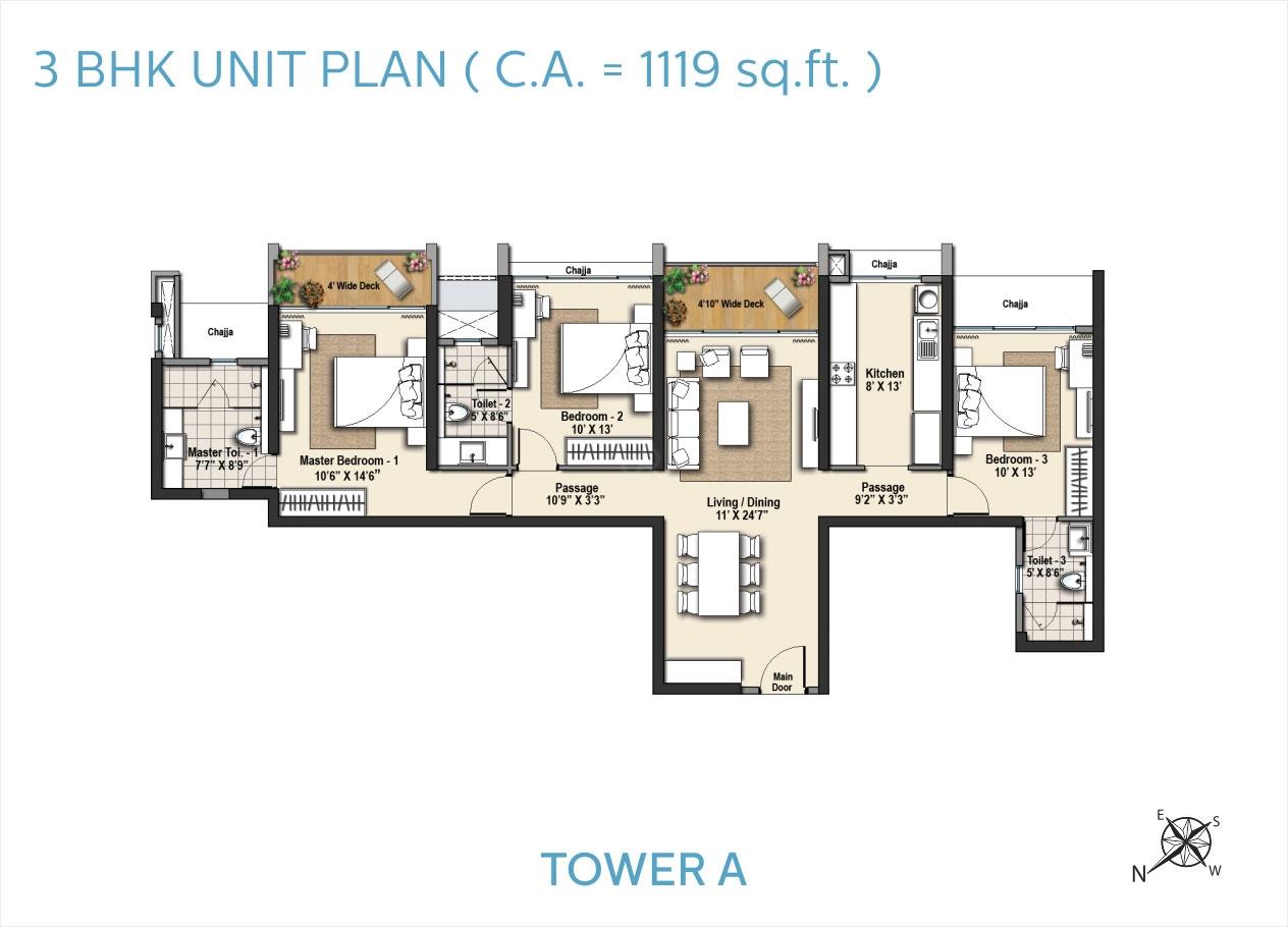 Sorento Tower A Floor Plans
