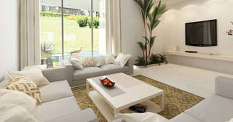 Godrej Elite Townhomes  - living area