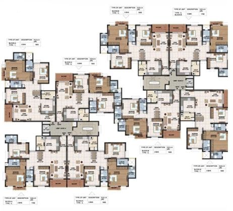 Sterling Pointe - typical flr plan