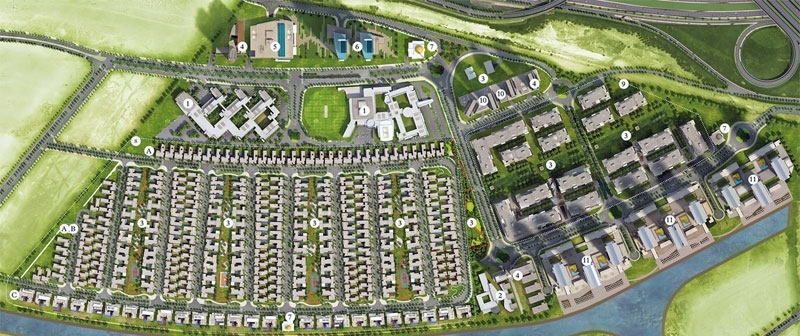 Sobha Hartland (Six Bedroom Canal Plots) 1,11,861 Sq.ft Plot For Sale