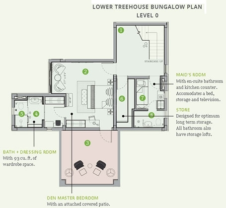 Amoravida  - level 0 flr plan