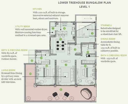 Amoravida  - level 1  flr plan