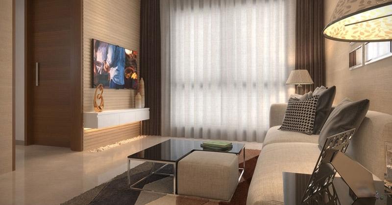 Uk iridium kandivali east mumbai by uk realty for Living room kandivali east