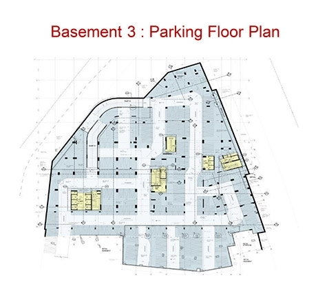RMZ Galleria Comm - Parking Plan