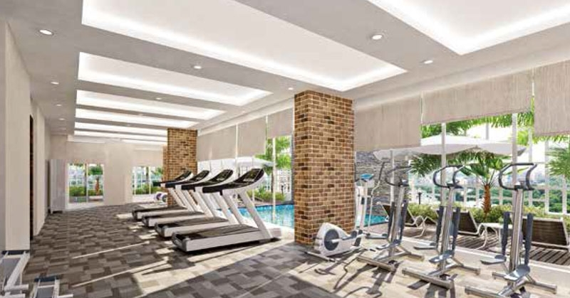 LEVEL - The Residences  - Gym
