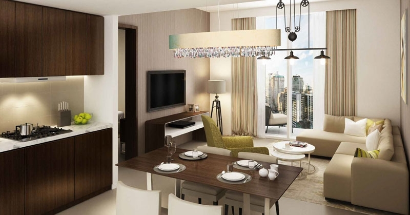 Damac Reva  - Living area